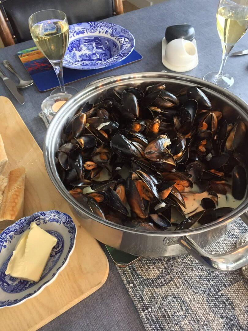 Mussels at Craignure Bunkhouse