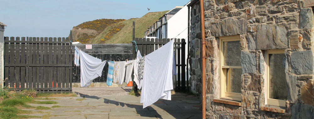 Solar Wind Powered drying at Cullen Harbour Hostel