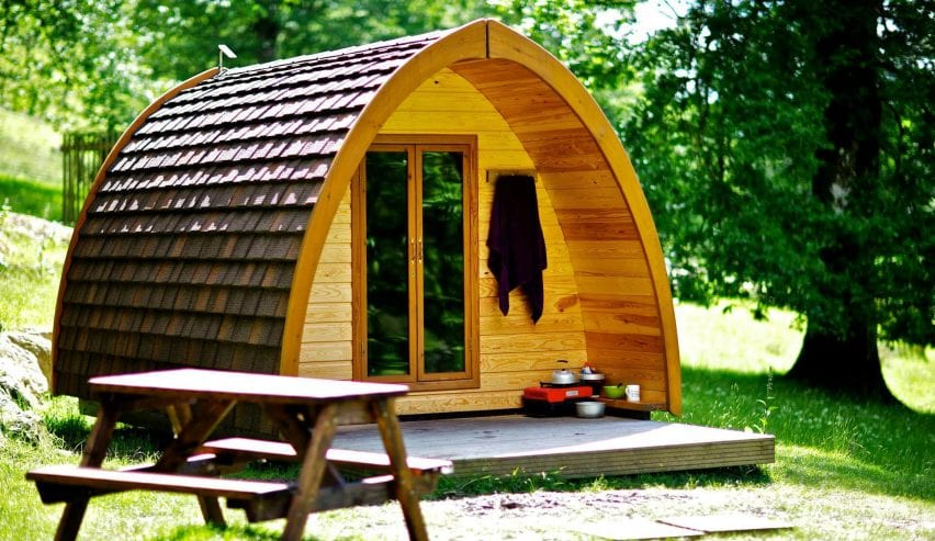 Rydal Hall Eco Pods