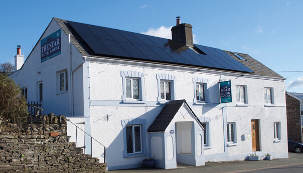 Star Bunkhouse Eco Hostel in the Brecon Beacons