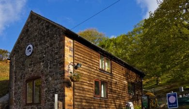 A hostel or bunkhouse