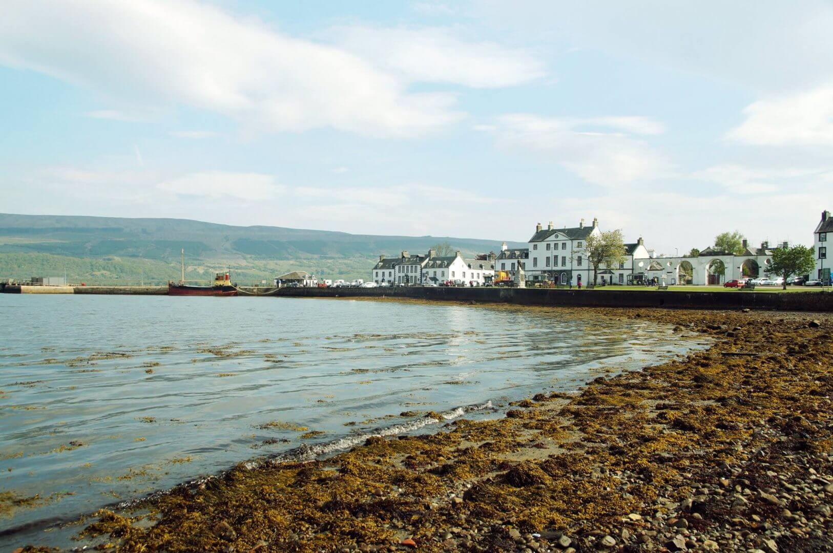 Inverary from Loch Fyne