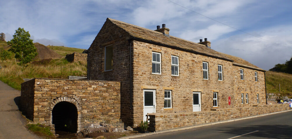Haggs Bank Bunkhouse on Isaccs tea trail