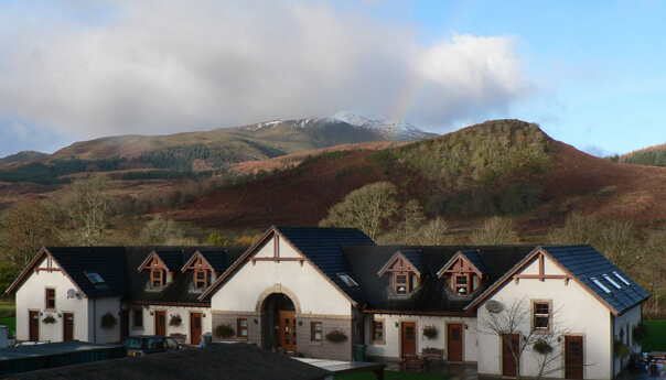 accessible accommodation at trossachs tryst
