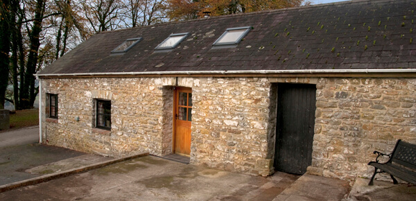 Accessible accommodation at the long barn