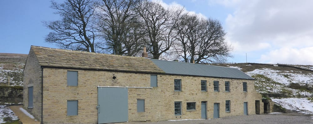 Carrshield Camping Barn on Isaacs Tea Trail North Pennines