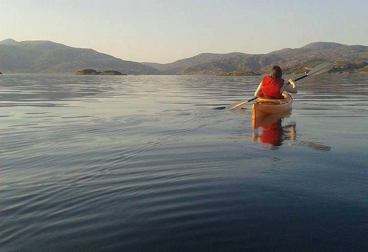 Kayaking in the Bays of Harris
