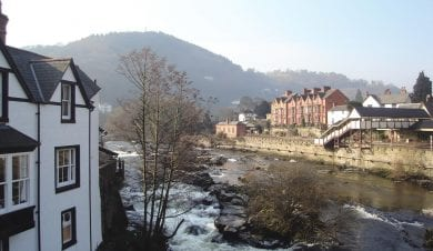 Llangollen and the River Dee