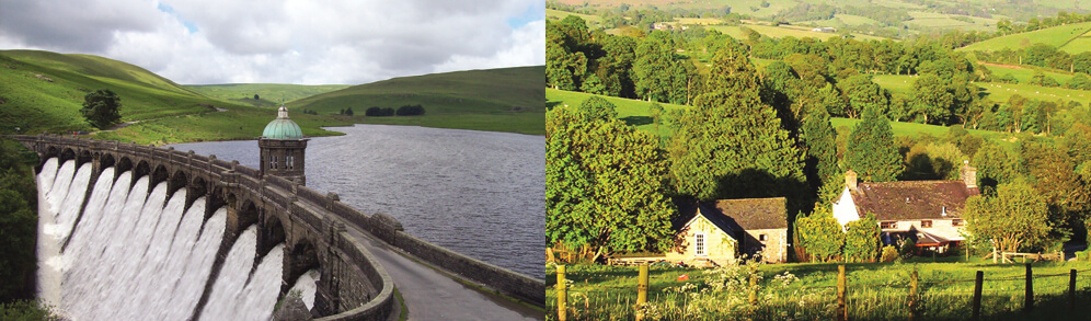 elan valley dams and Beili Neuadd dog friendly Bunkhouse