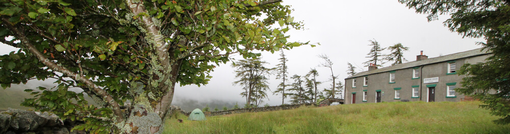 skiddaw house and camping