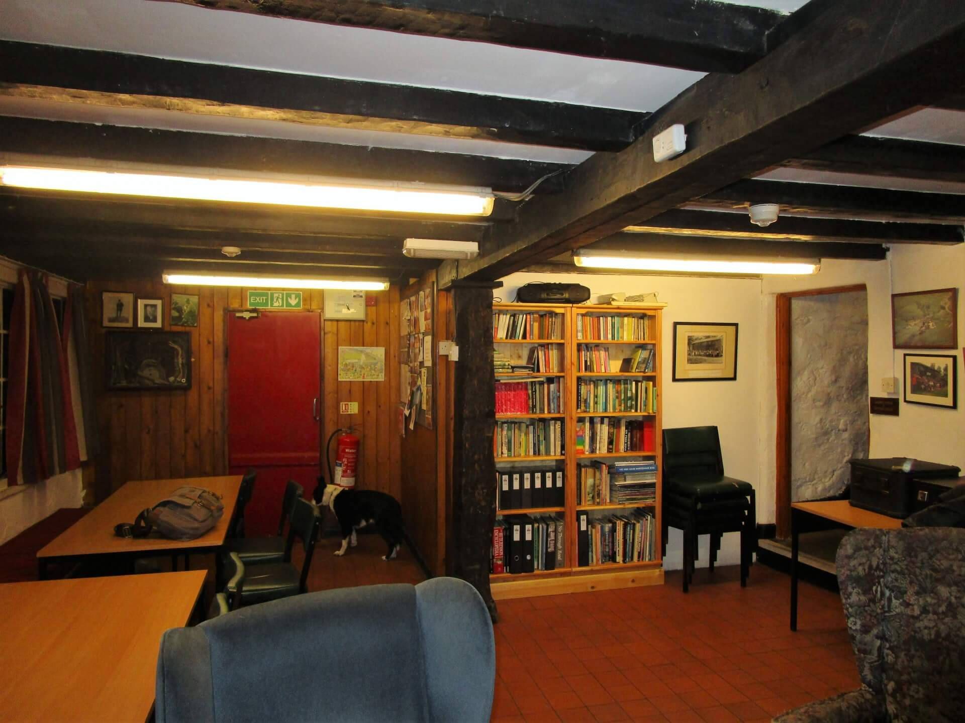 Library at High House in Borrowdale
