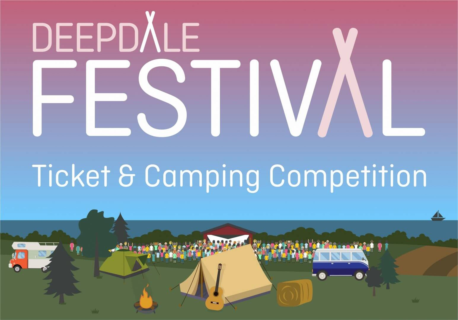 Win Tickets & Camping for Deepdale Festival