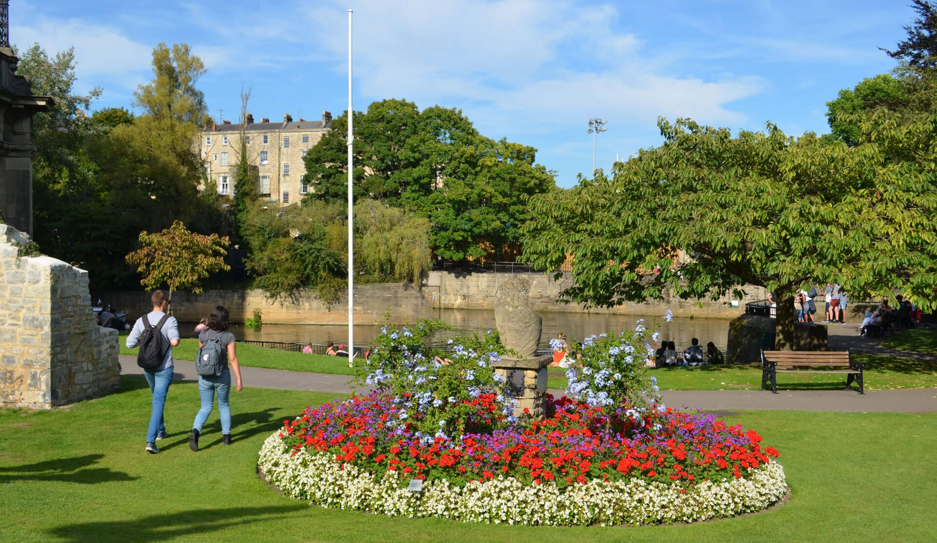 parade gardens- bath on a budget