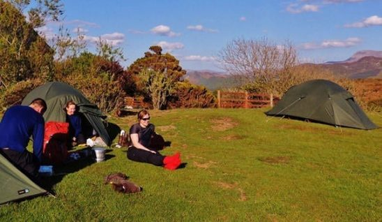 hostels with campsite