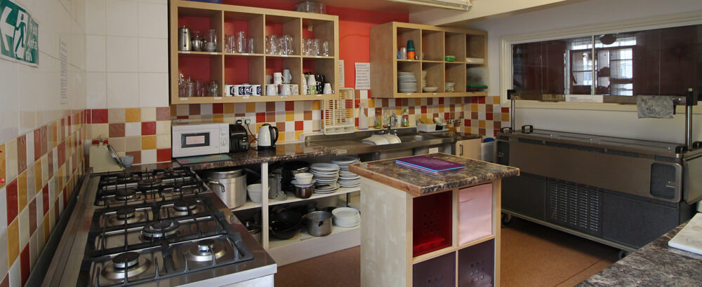 self catering at hostels with private rooms