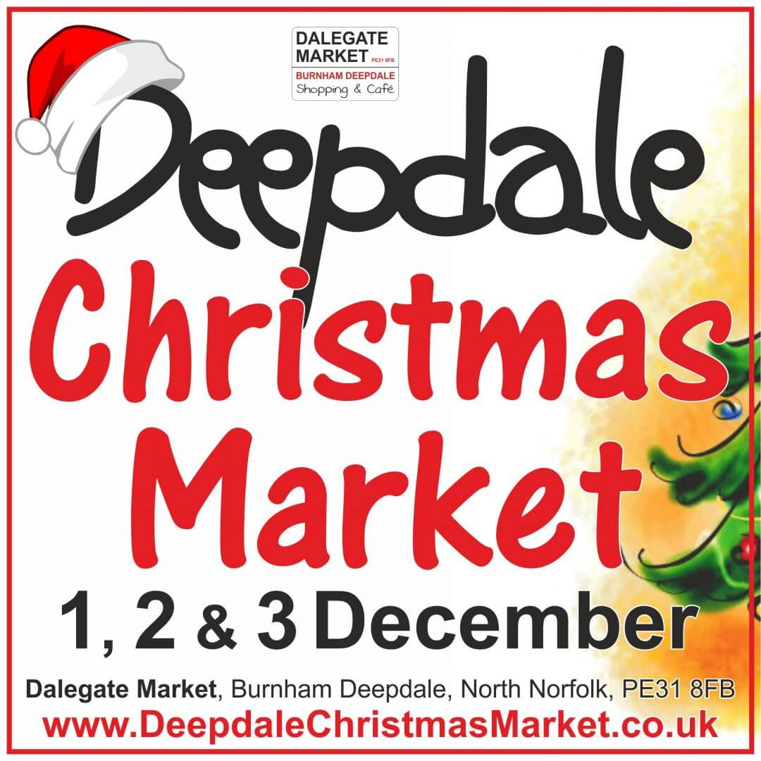 Deepdale Christmas Market - Friday 1st to Sunday 3rd December 2017