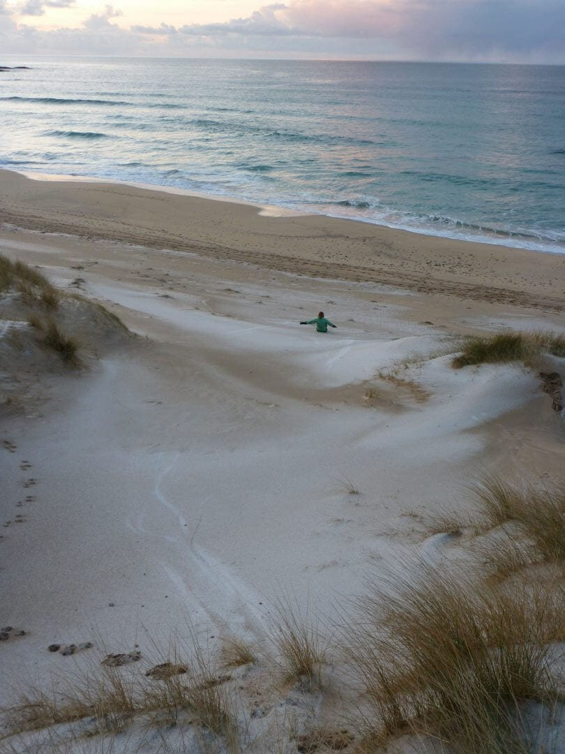 Isle of Coll Beach in December