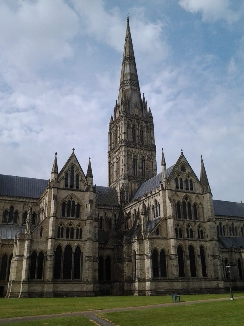Salisbury Cathedral - discovered when walking in South England