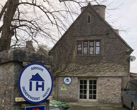Arnside Hostel. An English Independent Hostel affiliated to the YHA