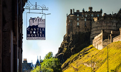 Castle Rock Scottish Independent Hostel accommodation in Edinburgh