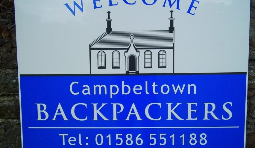 Campbeltown backpackers