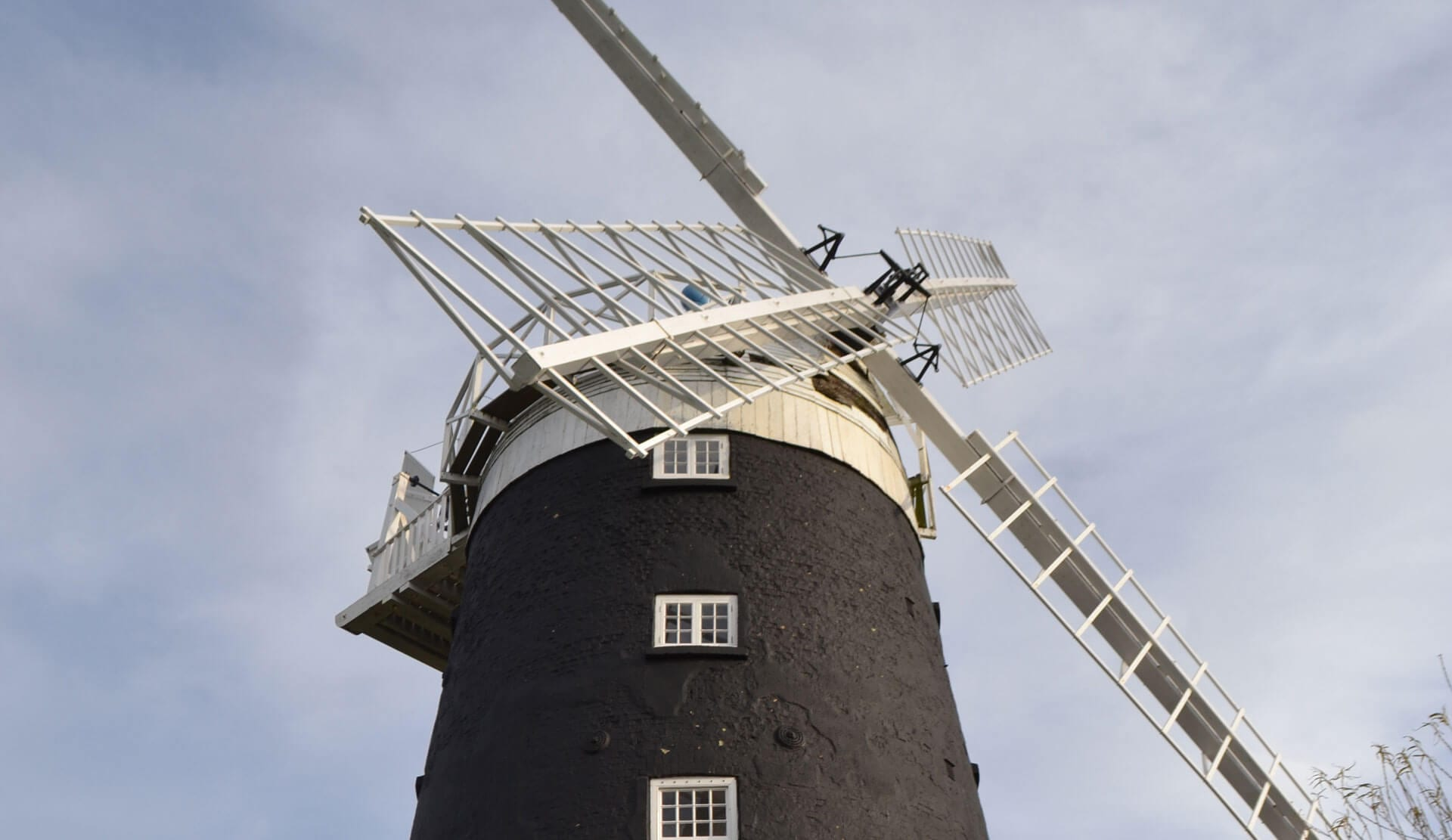 Stay in a windmill built in the 1800s!