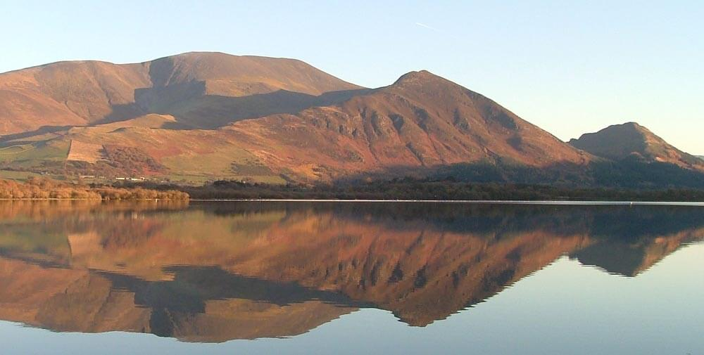 Skiddaw Mountain in the Lake District