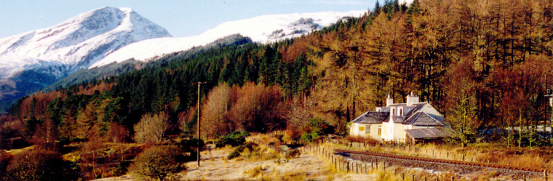 sGerrys Hostel in the Mountains of Scotland