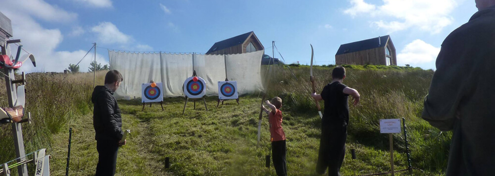 archery at Tarset Tor