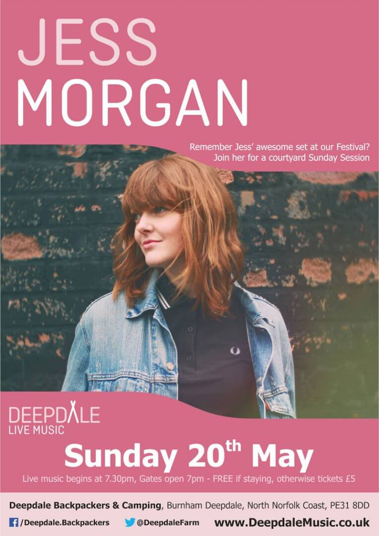 Jess Morgan - Sunday Session
