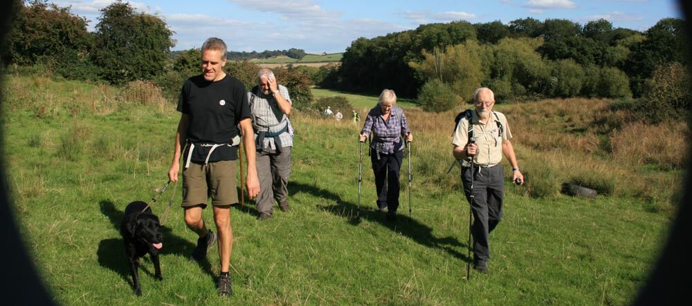 Lincolnshire Wolds walking festival walk