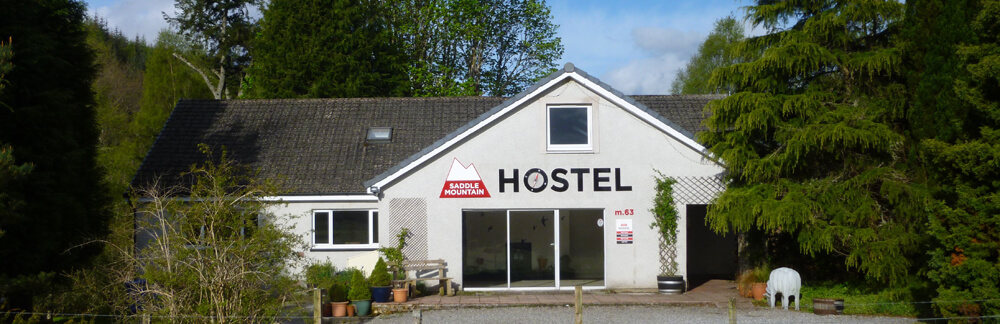 Saddle Mountain Hostel on the great glen way