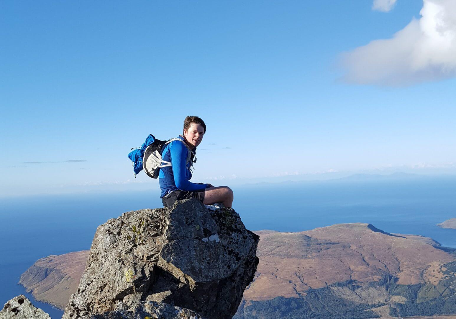 Climbing on Skye with Skye Guides
