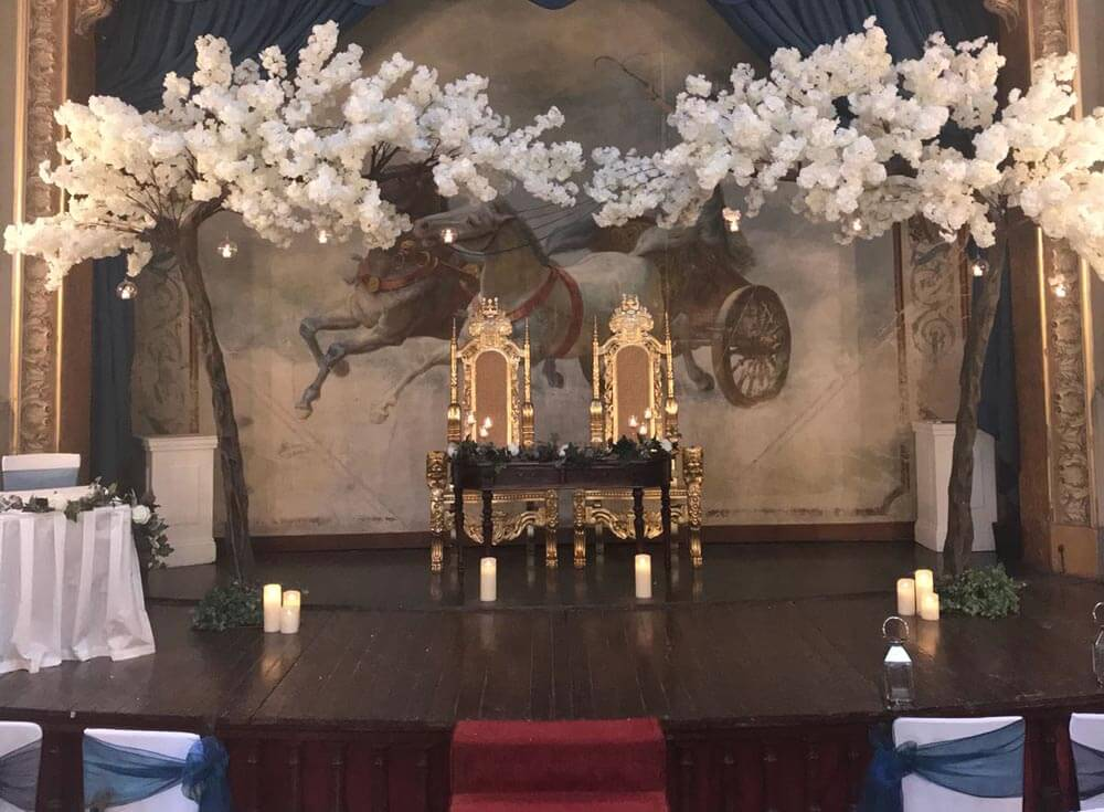 Adelina patti's opera house, a magical location for your wedding