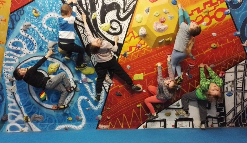 Rock and Rapid Bunkhouse and Climbing wall