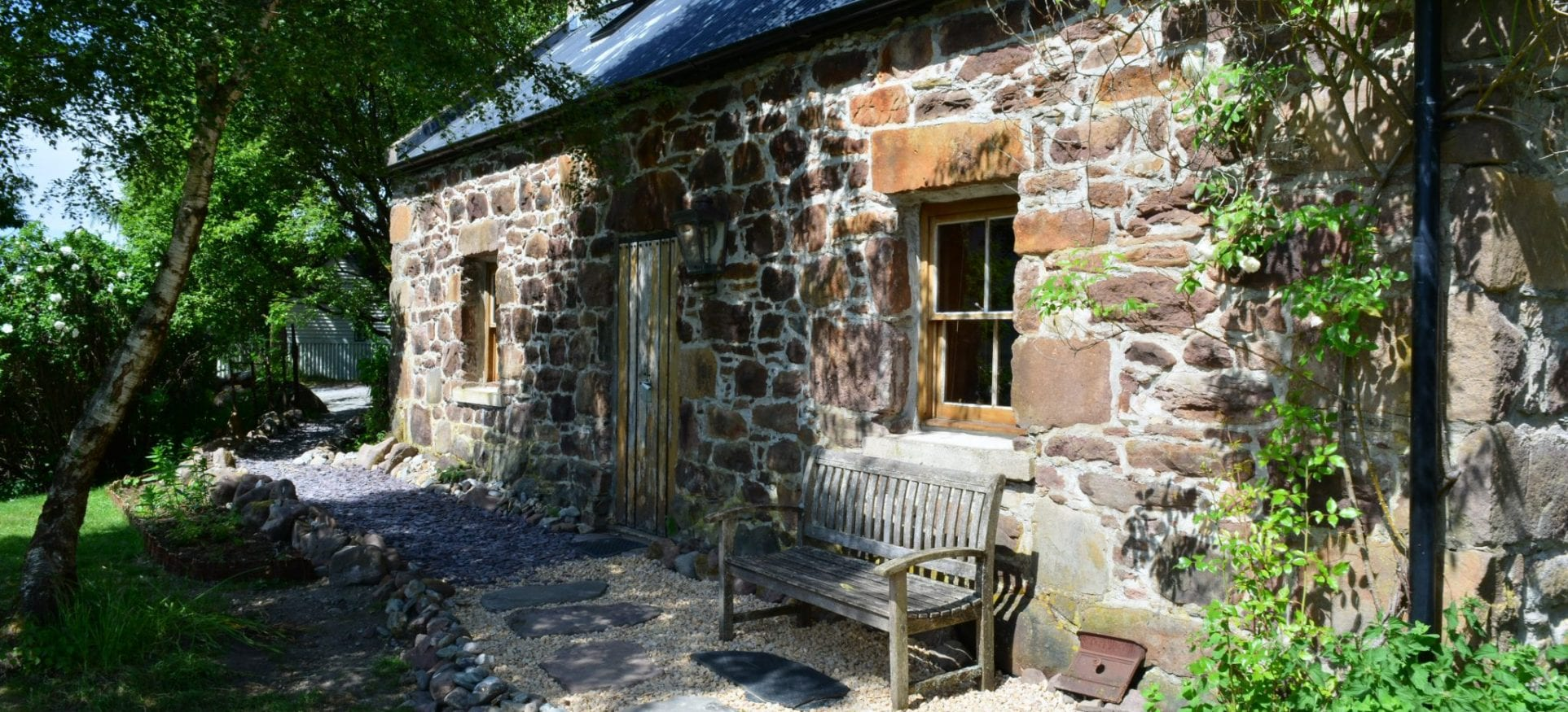 Badralloch bothy and cottage