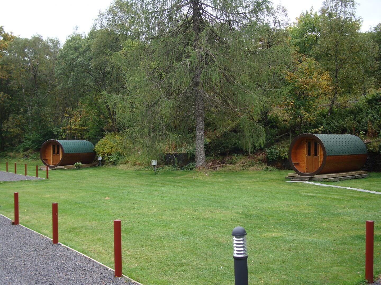 Hobbit Houses at By the Way Hostel