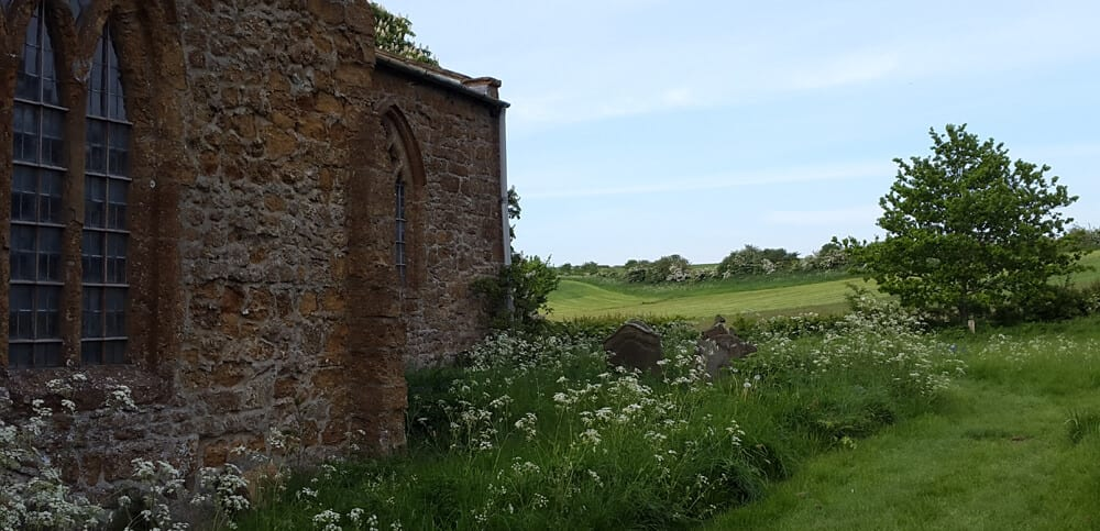 Lincolnshire ramblers church view