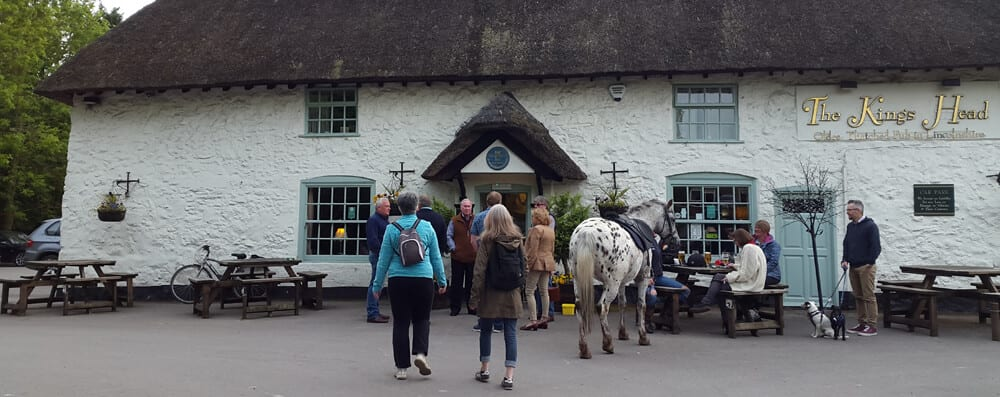 Lincolnshire thatched pub
