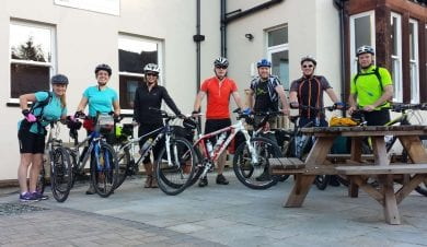 C2C cycle route - Wayfarers Independent Hostel