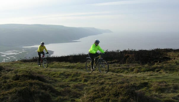cycling in Exmoor National Park