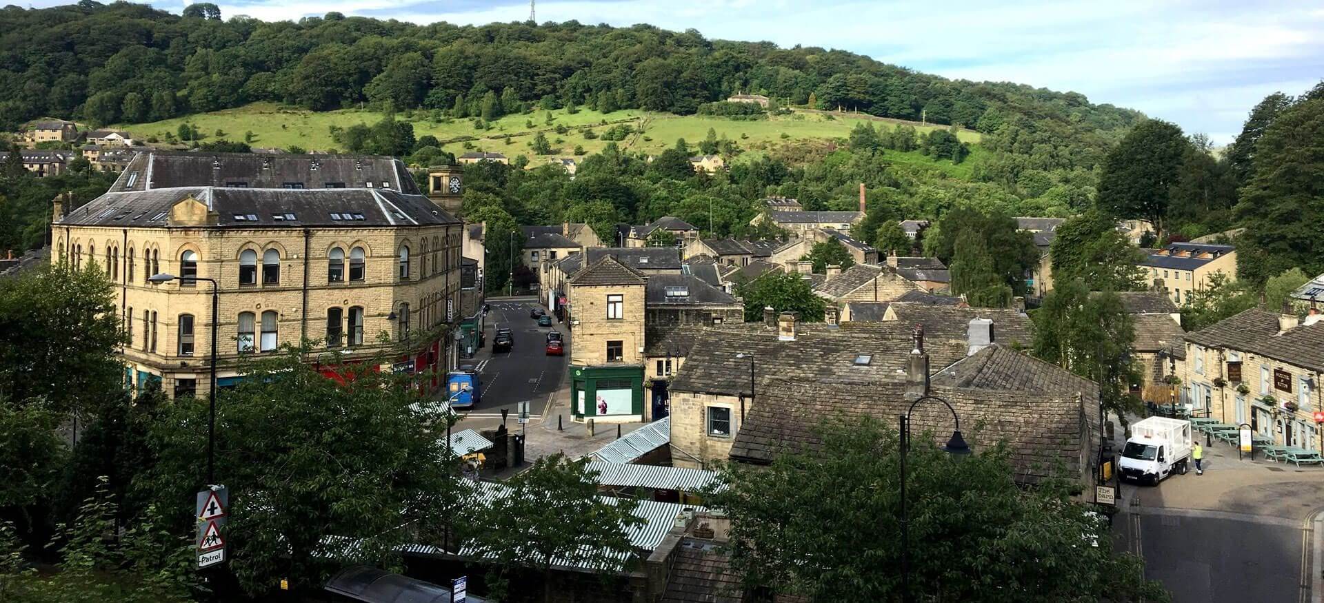 hebden bridge close to the pennine way