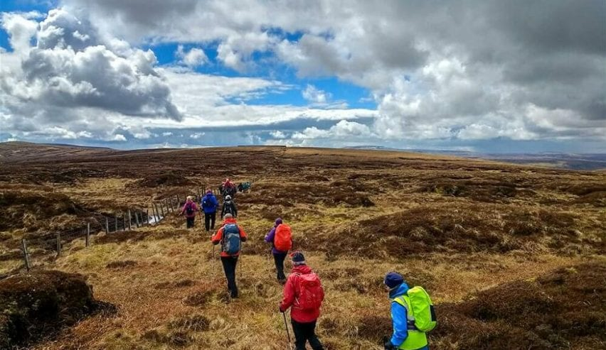 Haltwhistle walking festival near greenhead hostel
