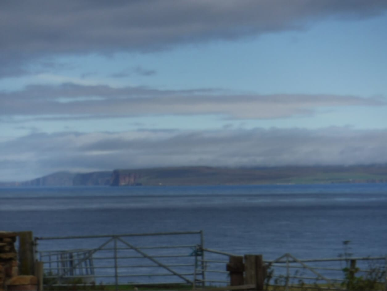BB's bunkhouse view of Pentland Firth