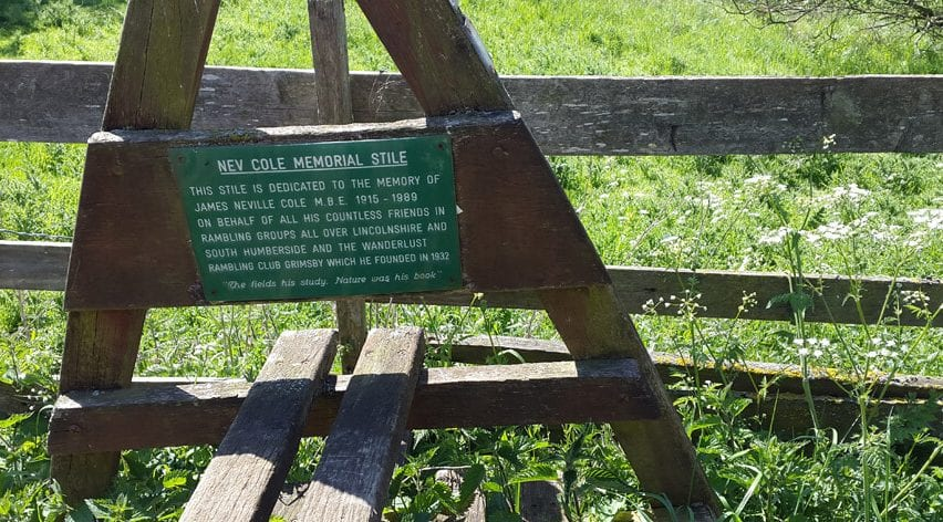 Walking in the Lincolnshire Wolds history
