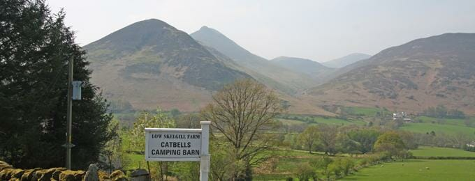 Catbells Camping Barn - Cumbria - group accommodation