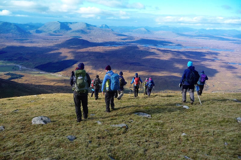 Drover Tryst Walking Festival near Comrie Croft