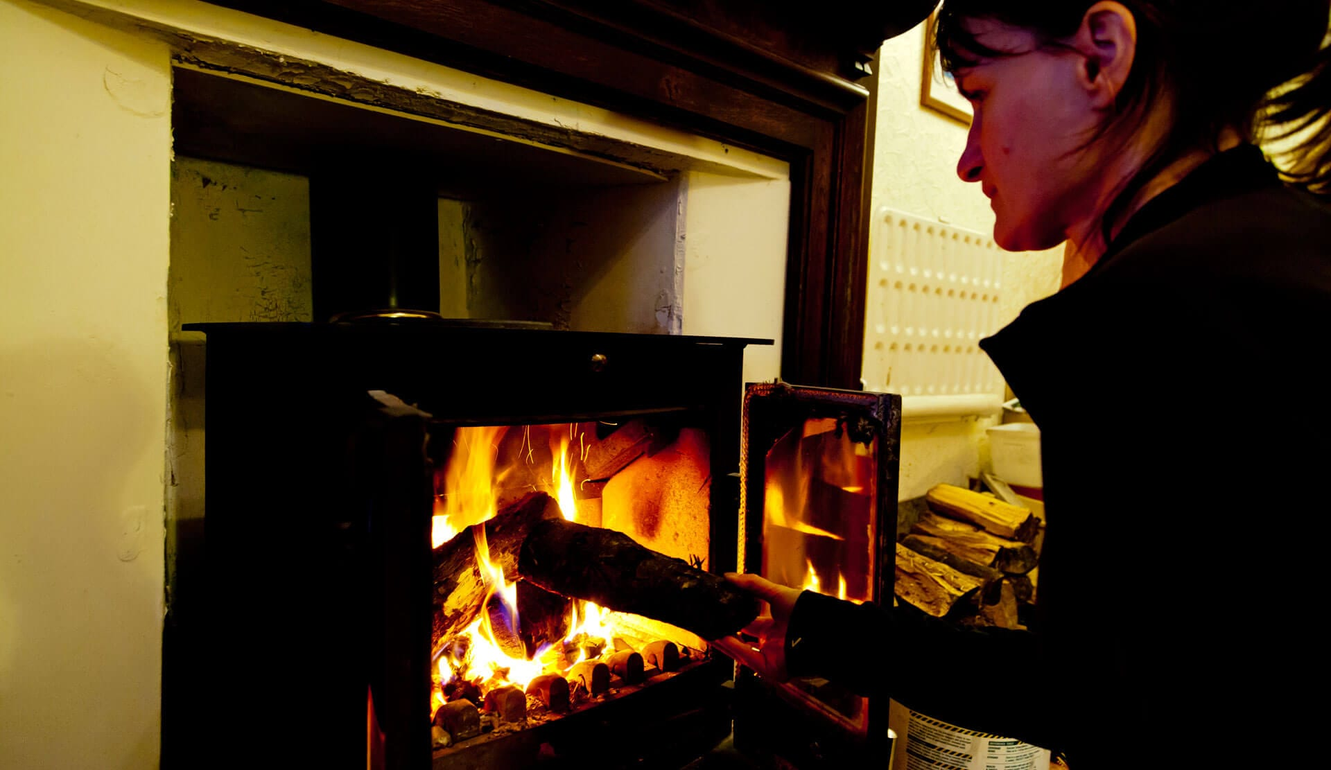 Hostels with Log Burners and Real fires