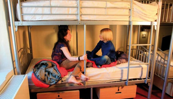 bunk rooms are great accommodation for school trips