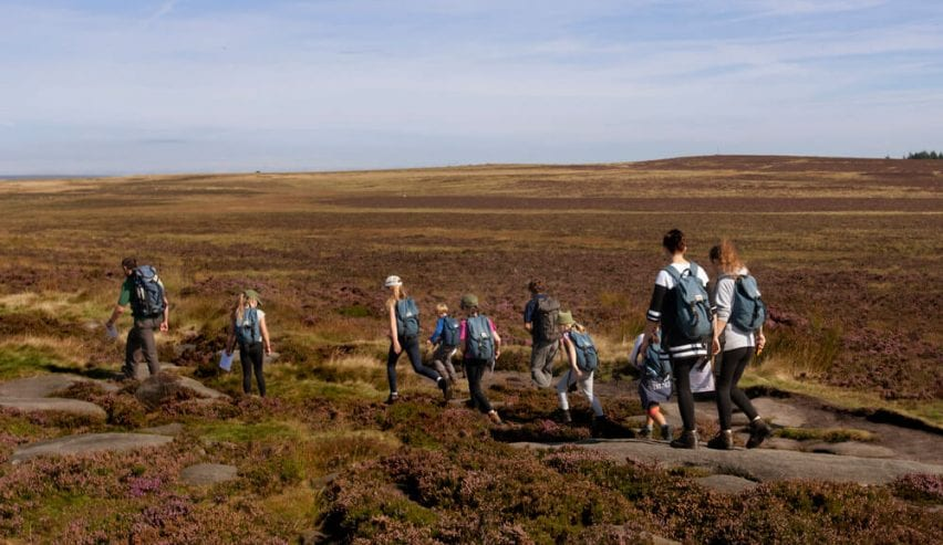 St Michaels Centre - self catering - school groups - families - peak district